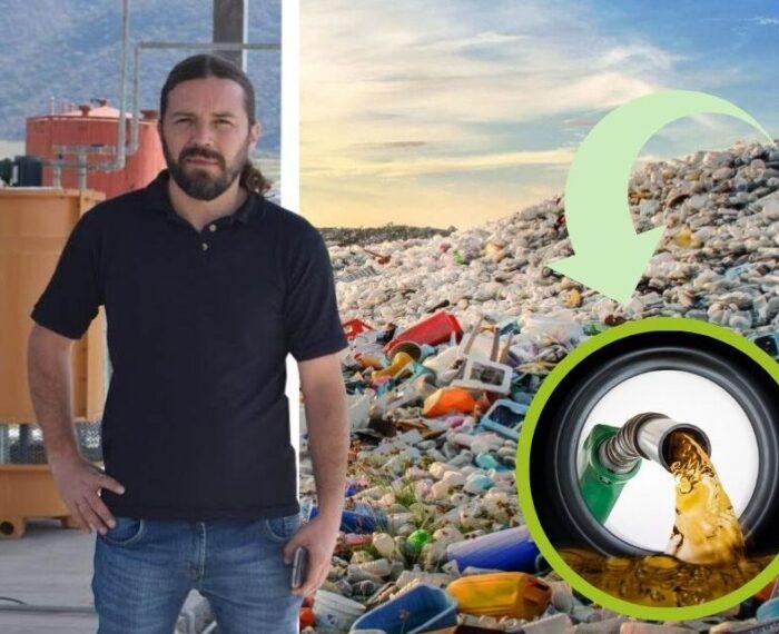 #Sustentabilidad: Mexicano Convierte Desechos Plásticos En Combustible Económico Para Vehículos