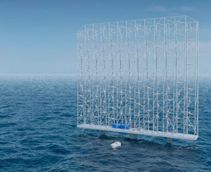 #Energía: Gigantescos aerogeneradores flotantes de 324 metros capaces de suministrar energía a 80.000 hogares cada uno
