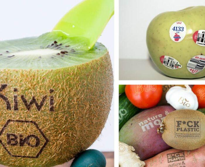 #Sustentabilidad: Crean un marcado de frutas con láser para reducir toneladas de plástico de etiquetas