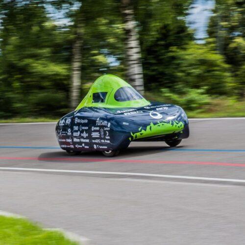 Un equipo de la Universidad de Delft bate el récord mundial de mayor distancia recorrida en un vehículo de hidrógeno