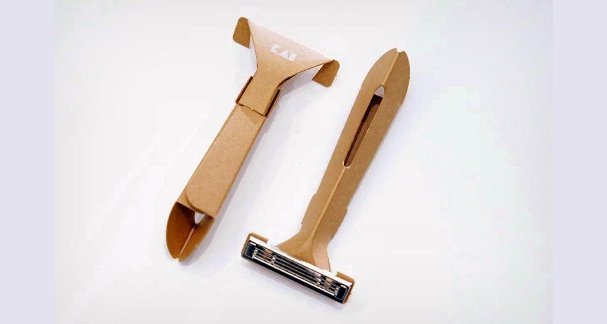 #Sustentabilidad: Crean una máquina de afeitar desechable con 98% menos de plástico que las ordinarias