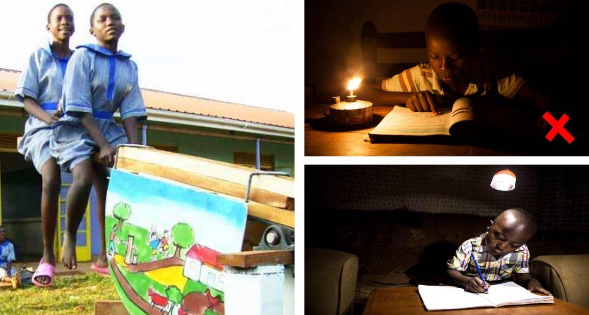 #Energía: Joven diseña un 'sube y baja' que genera energía mientras los niños juegan