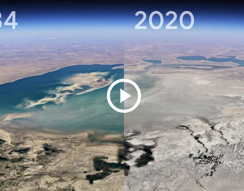 #ClimateChange: Google's New Timelapse Shows 37 Years of Climate Change Anywhere on Earth, Including Your Neighborhood
