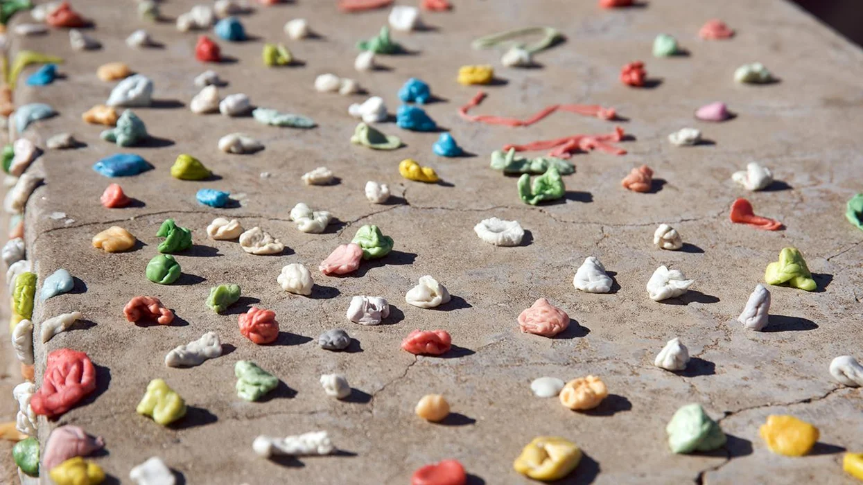 #Contamination: Did you know there's plastic in most chewing gum?